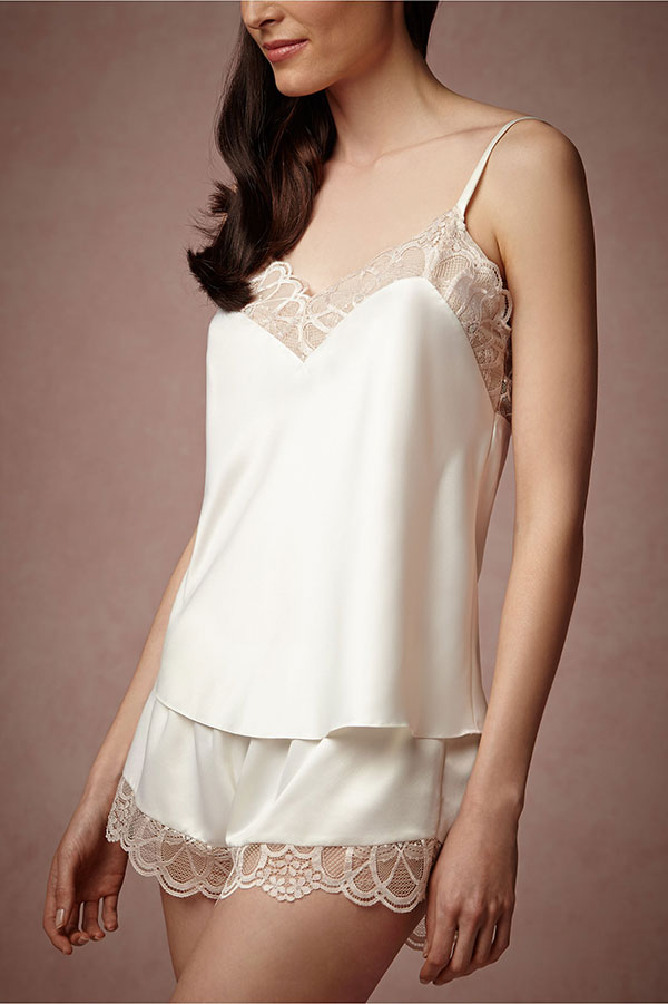 BHLDN Bridal Lingerie Collection - Cosette Shorts