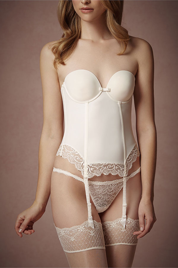 BHLDN Bridal Lingerie Collection - Creamline Bustier