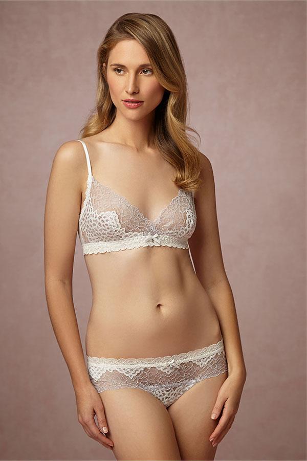 BHLDN 2015 Bridal Lingerie Collection
