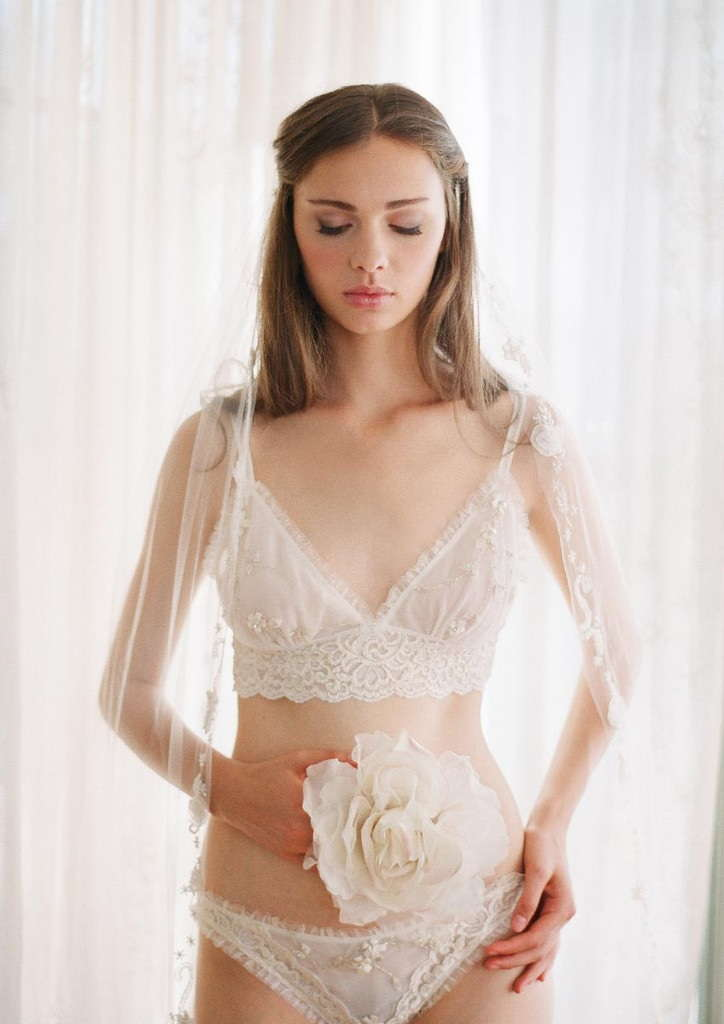 Claire Pettibone Bridal Lingerie Collection - Bellaire Bralette