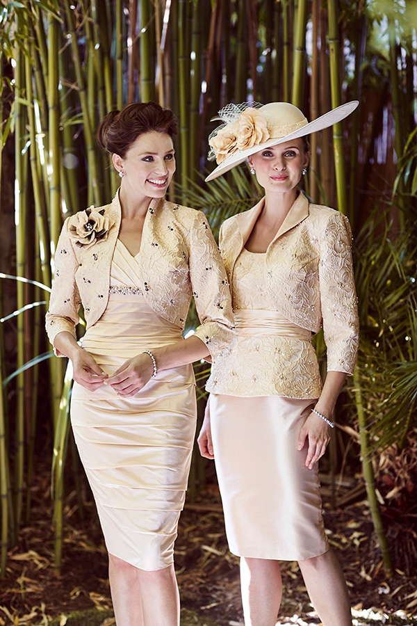 Ian Stuart Mother of the Bride Collection - Gold Black
