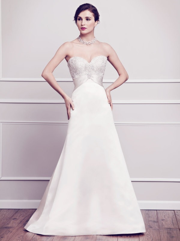 Kenneth winston spring 2015 bridal collection world of for Kenneth winston wedding dresses