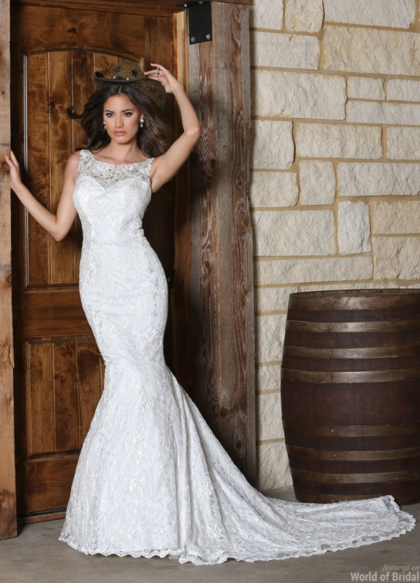 Davinci bridal spring 2015 wedding dresses world of bridal for Da vinci red wedding dress