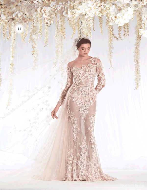 Ziad naked 2015 wedding dresses world of bridal for Ziad nakad wedding dresses