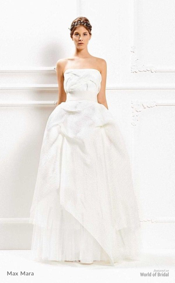 Max Mara 2015 Wedding Dresses - World of Bridal