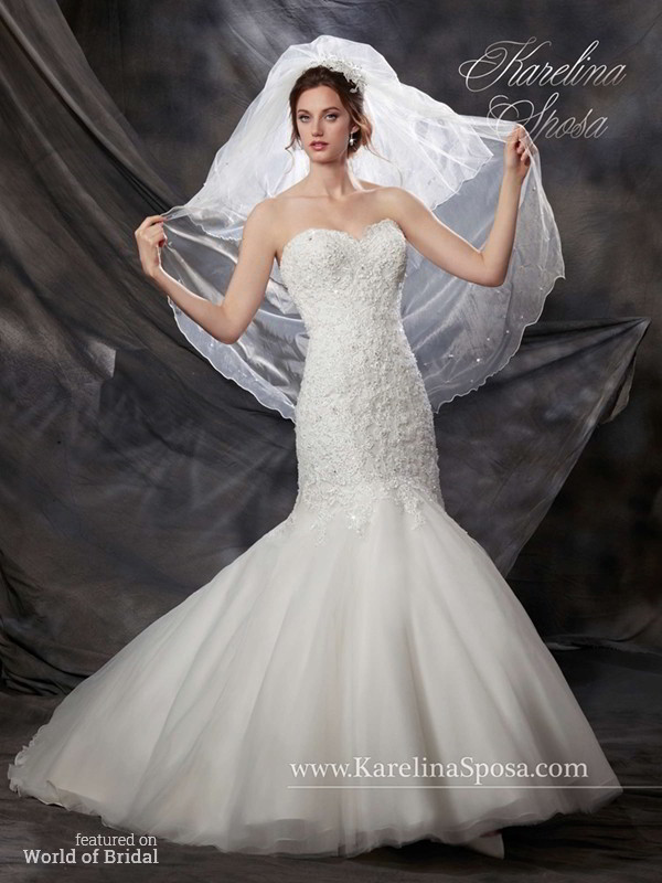 Karelina sposa fall 2015 wedding dresses world of bridal for Pc mary s wedding dress