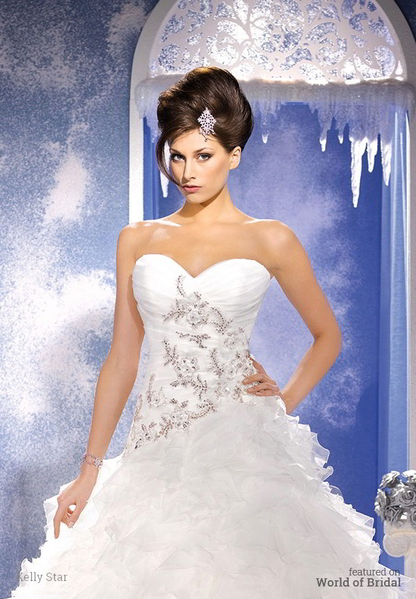 Kelly Star 2015 Wedding Dress
