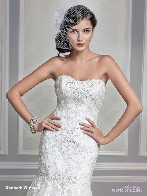 Kenneth Winston Fall 2015 Wedding Dresses - World of Bridal