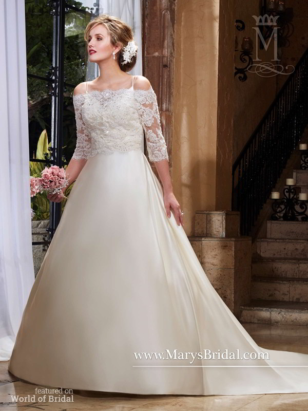 Mary 39 s bridal fall 2015 wedding dresses world of bridal for Pc mary s wedding dress