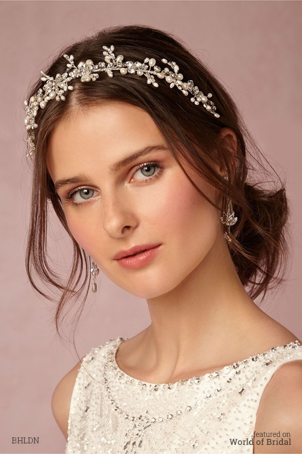 Natural Crystal Hair Jewelry