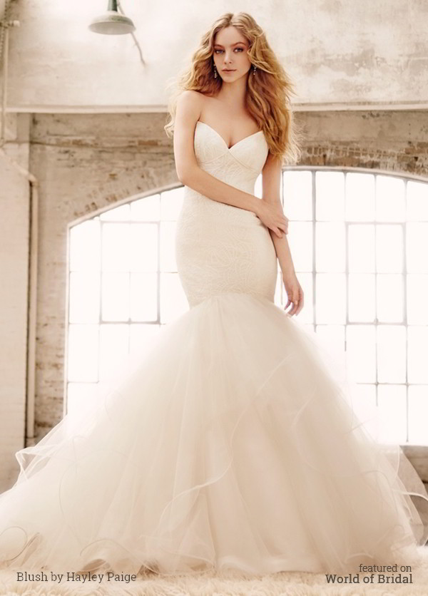 Blush By Hayley Paige Fall 2015 Wedding Dresses World Of