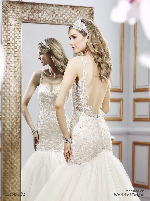 Moonlight Bridal Spring 2016 Wedding Dresses - World of Bridal