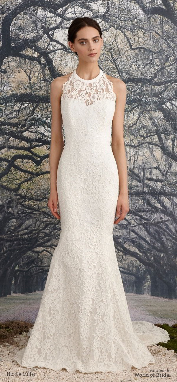 Nicole miller spring 2016 wedding dresses world of bridal nicole miller spring 2016 wedding dress junglespirit Gallery