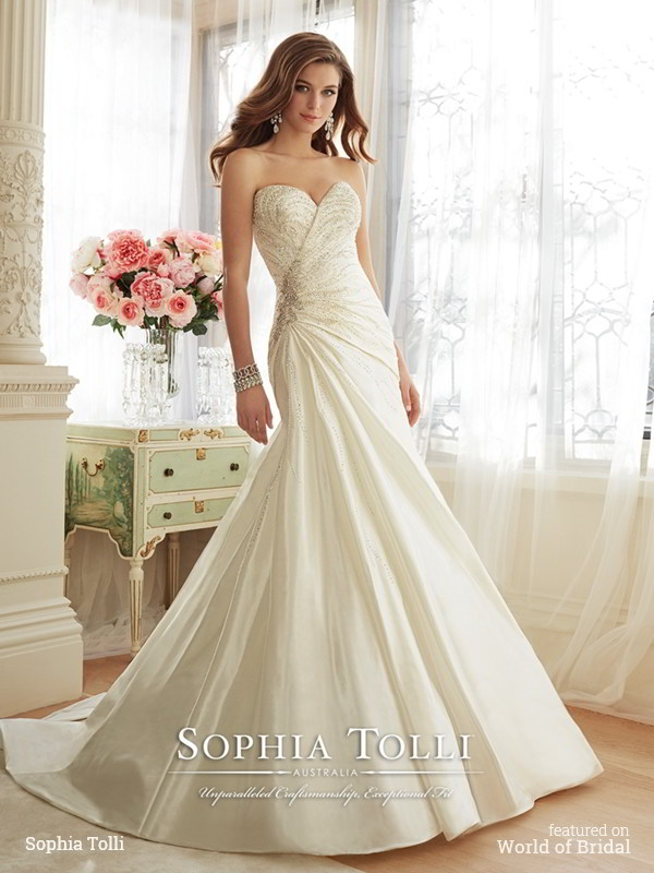 Sophia Tolli Spring 2016 Wedding Dresses - World of Bridal