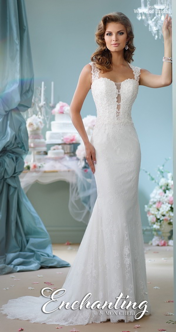 Enchanting by Mon Cheri Spring 2016 Wedding Dresses - World of Bridal