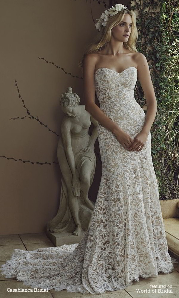 Casablanca Bridal Spring 2016 Wedding Dress