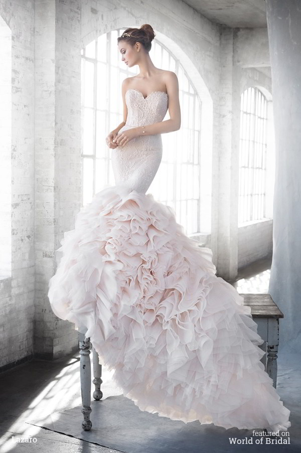 Lazaro Spring 2016 Wedding Dresses - World of Bridal