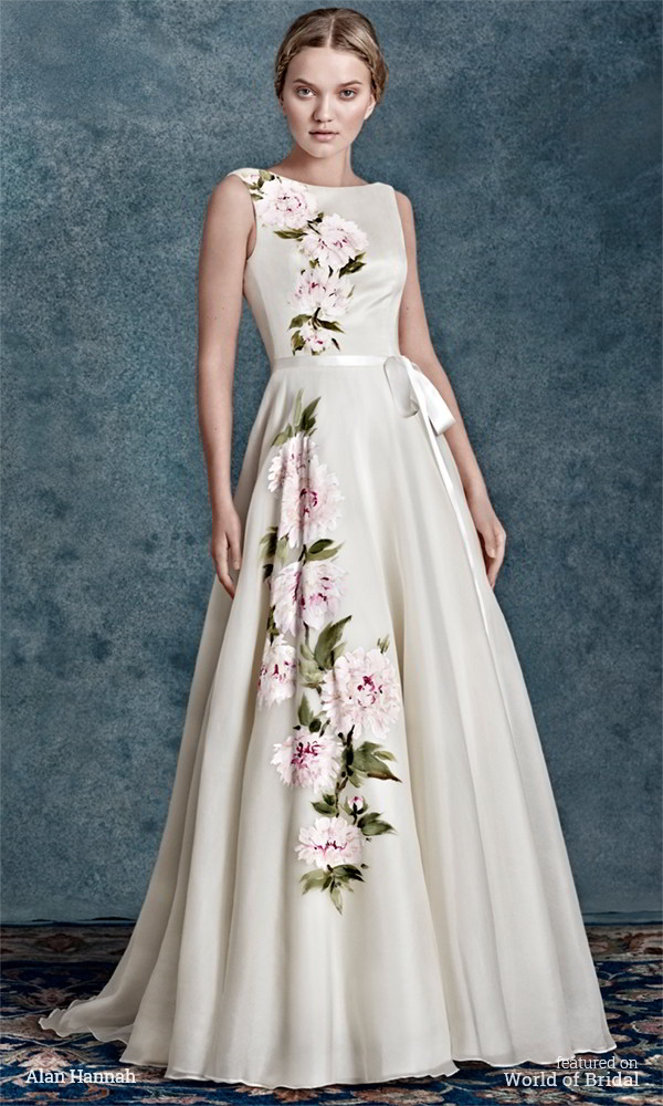 Alan hannah 2016 wedding dresses world of bridal for Silk organza wedding dress