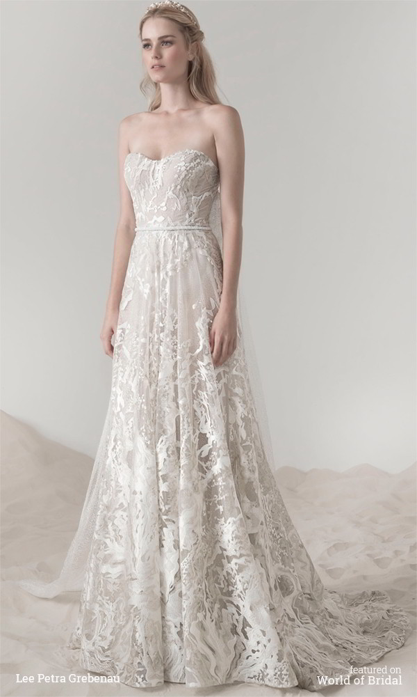 Lee petra grebenau spring 2016 wedding dresses world of for Dresses for spring wedding