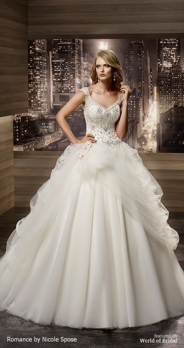 Romance Collection : Nicole Spose 2016 Wedding Dresses