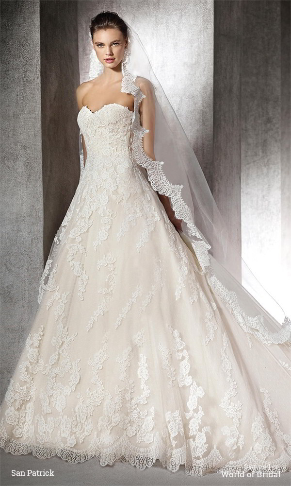 San patrick 2016 wedding dresses part 1 for Wedding dresses in san francisco