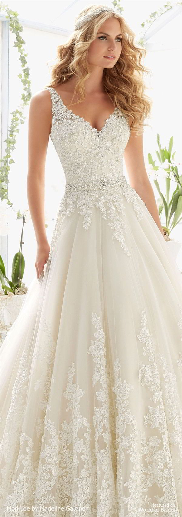 Mori Lee by Madeline Gardner Spring 2016 Wedding Dresses - World of ...