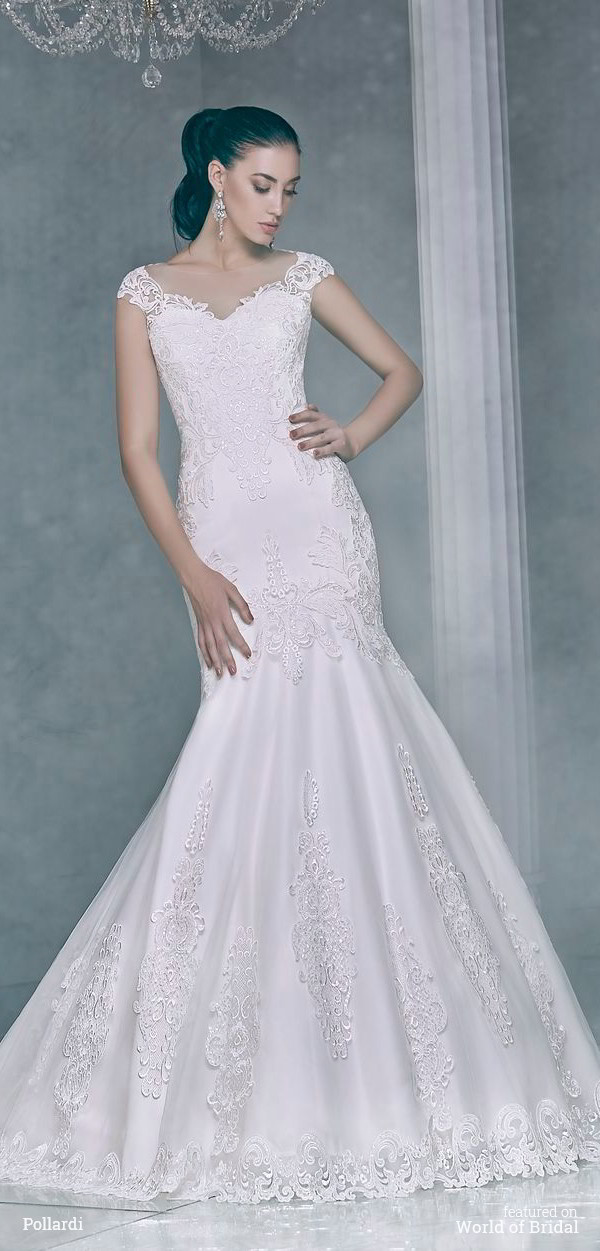 Pollardi 2016 wedding dresses world of bridal for Tight fitted mermaid wedding dresses