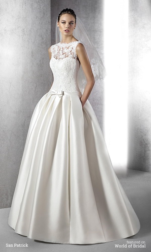 San patrick 2016 wedding dresses part 2 world of bridal for Wedding dresses in san francisco