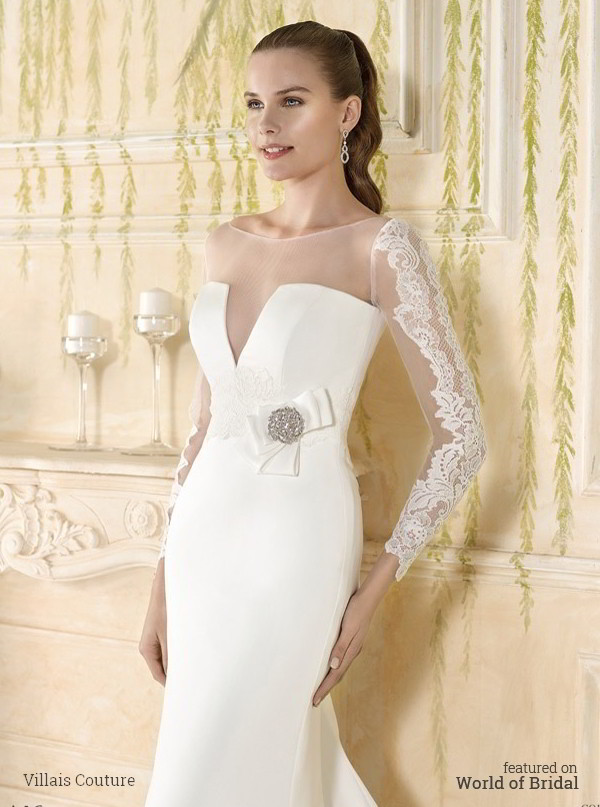 Villais couture 2016 wedding dresses world of bridal villais couture 2016 mermaid style wedding dress junglespirit Image collections