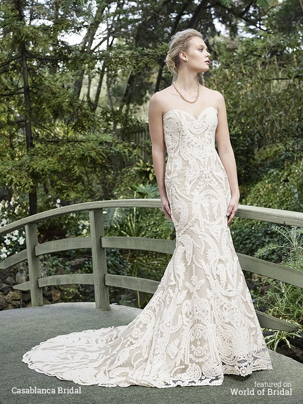 Casablanca Bridal Fall 2016 Wedding Dress