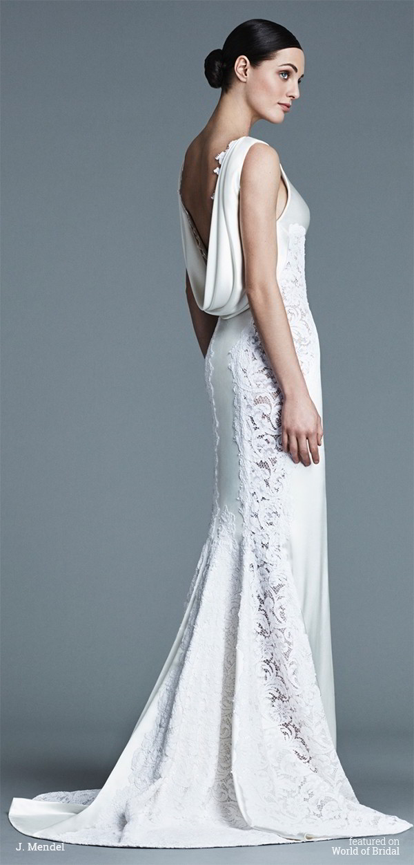 J mendel spring 2016 wedding dresses world of bridal for J mendel wedding dress