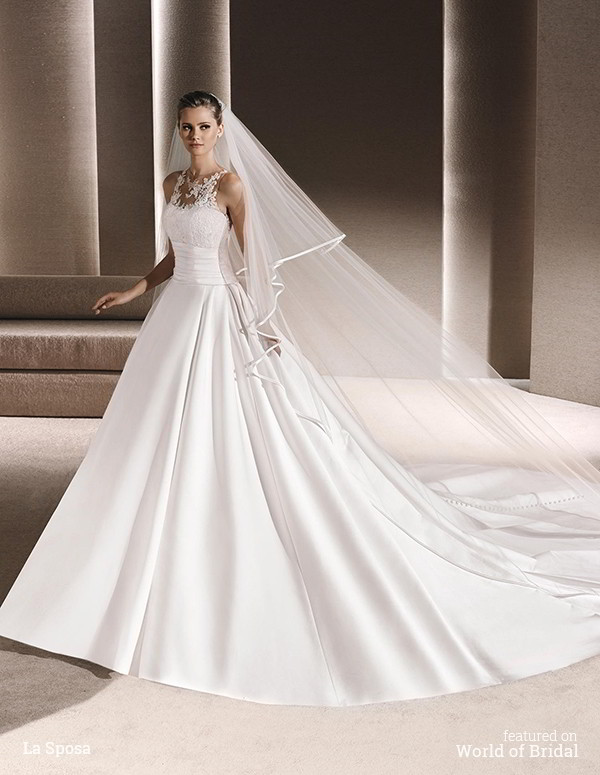 La sposa 2016 wedding dresses part 2 world of bridal for La sposa wedding dress