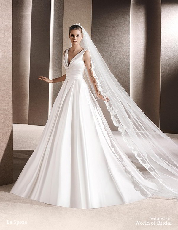 La sposa 2016 wedding dresses part 2 world of bridal for La sposa wedding dresses