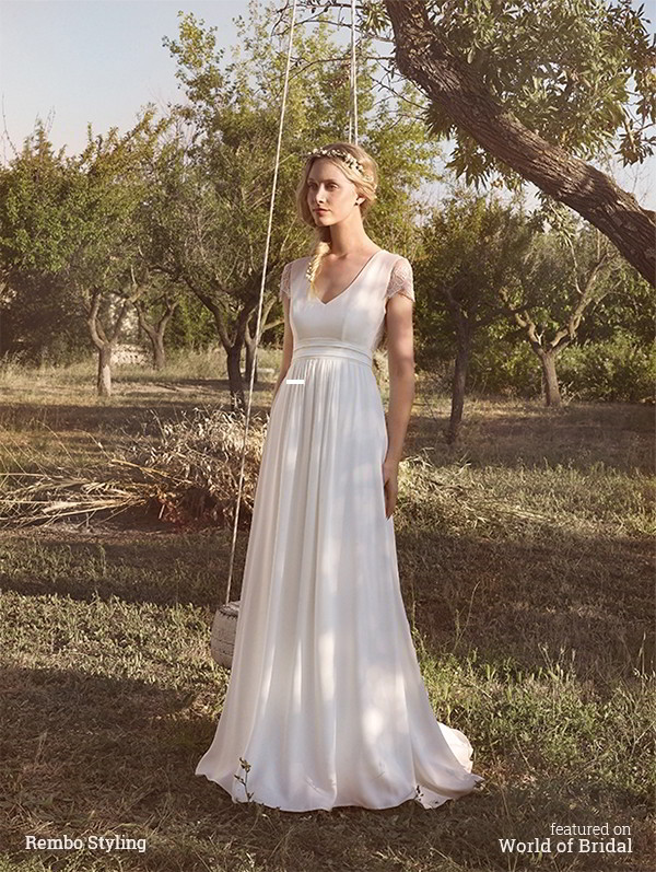 Comprehensive Bohemian Style Interiors Guide To Use In: Rembo Styling 2016 Wedding Dresses
