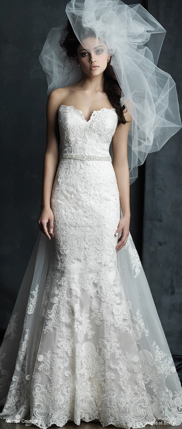 Allure couture fall 2016 wedding dresses world of bridal allure couture fall 2016 wedding dress ombrellifo Images
