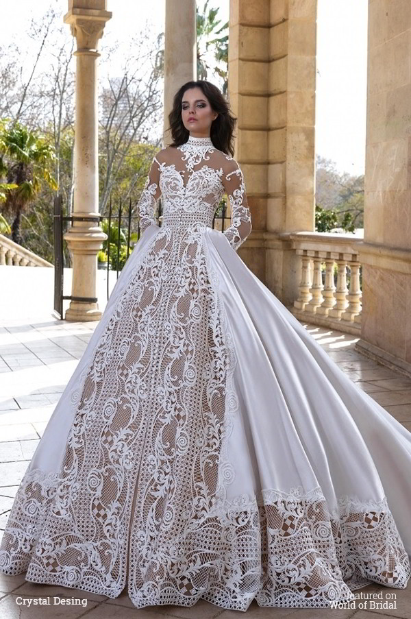 Crystal design 2016 wedding dresses world of bridal Randy wedding dress design