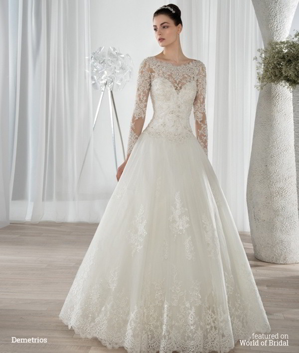 Demetrios 2016 Wedding Dress
