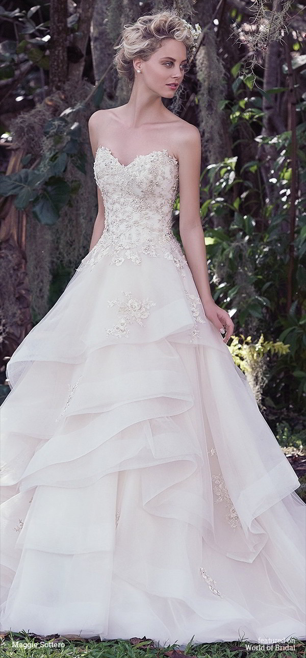 Maggie Sottero Fall 2016 Wedding Dresses - World of Bridal