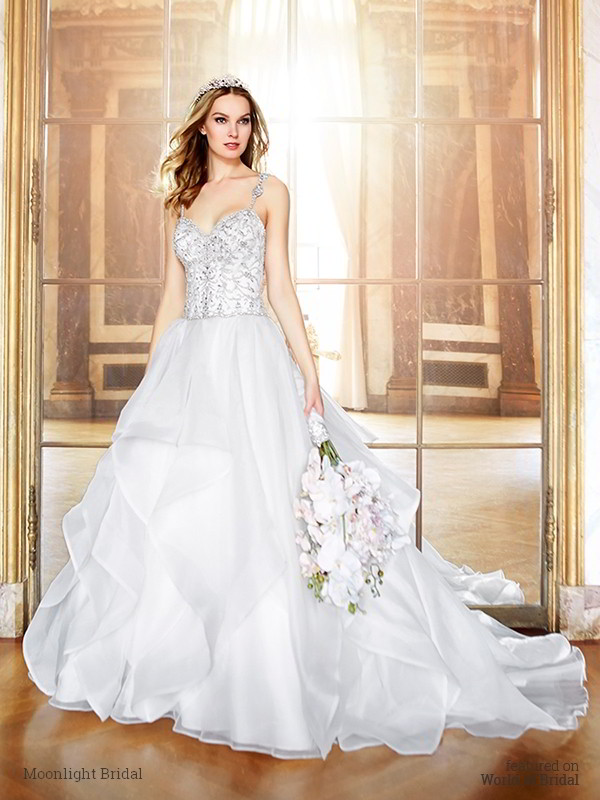Moonlight Bridal Fall 2016 Wedding Dresses - World of Bridal