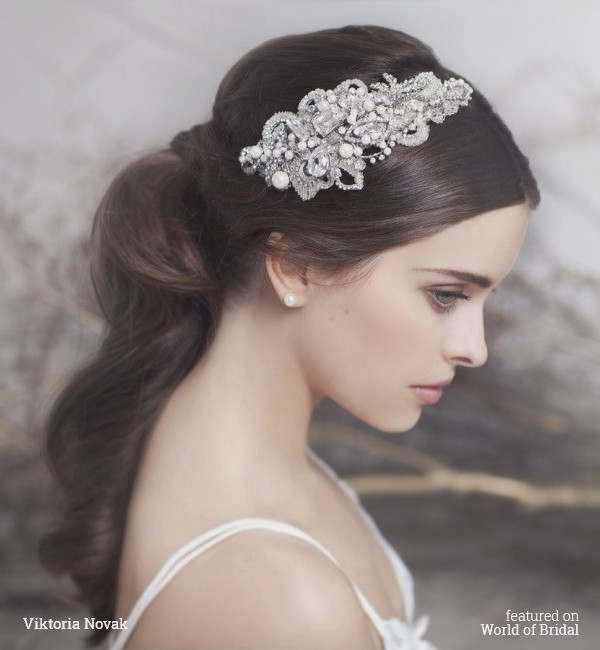 Viktoria Novak 2016 Bridal Couture Headpieces