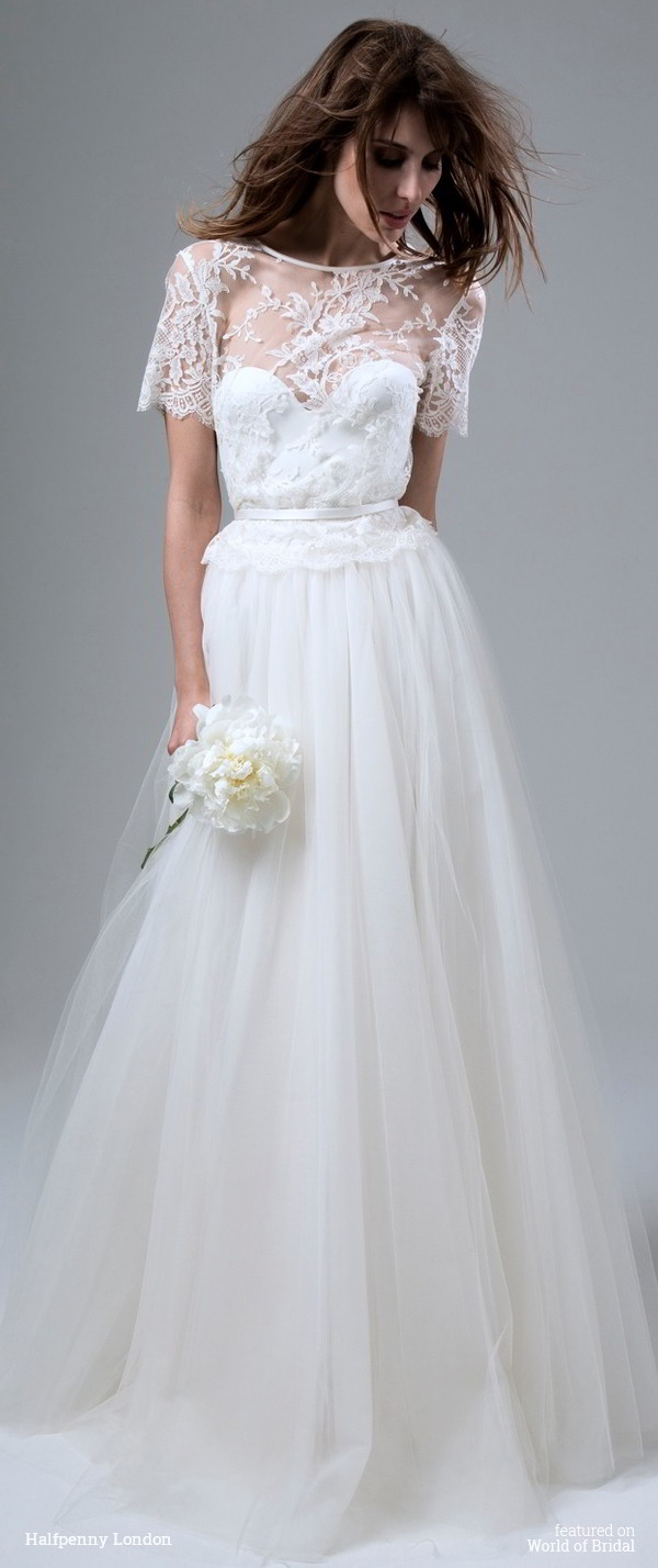 Halfpenny london 2016 wedding dresses world of bridal halfpenny london 2016 wedding dress ombrellifo Image collections