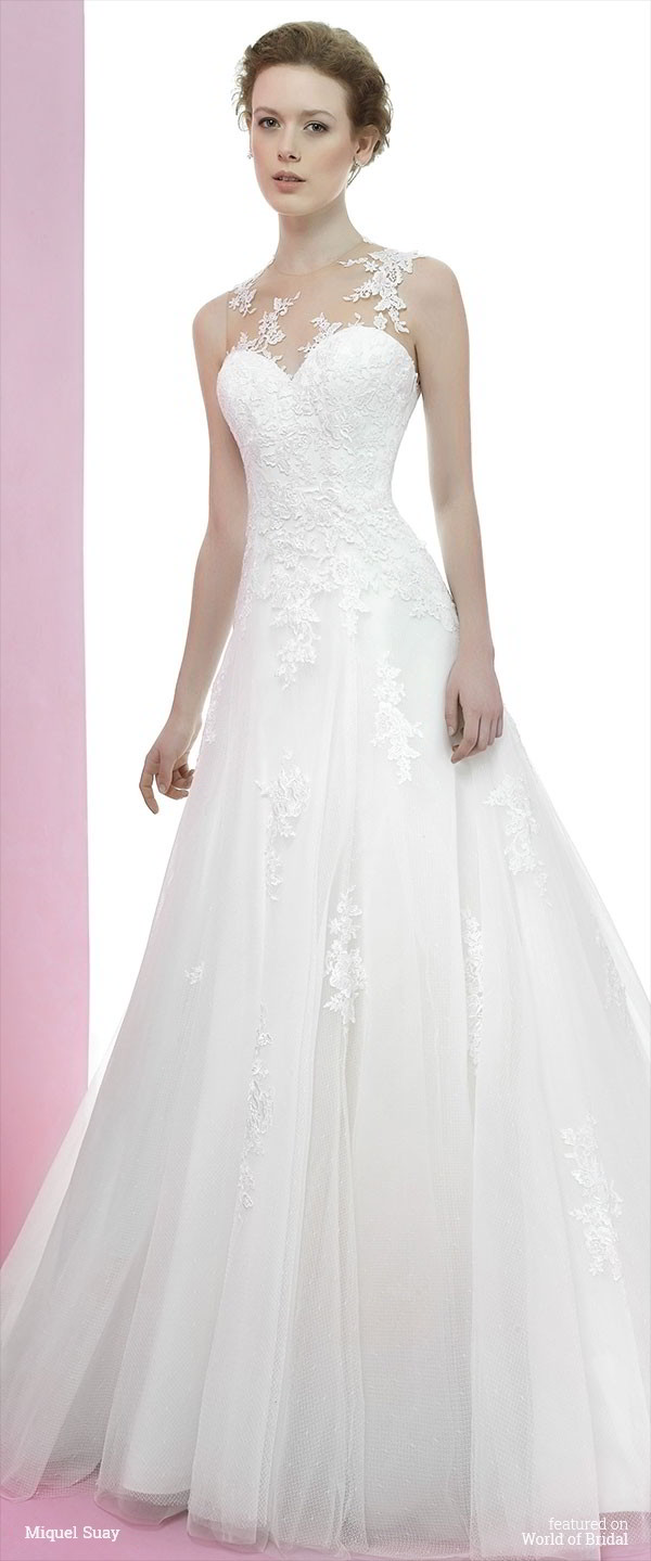 Miquel Suay 2016 Wedding Dresses With Sophisticated Glamour World