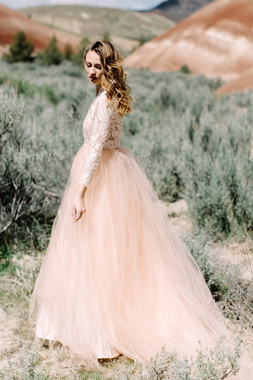 Elizabeth Dye 2016 Quot Painted Desert Quot Wedding Dresses