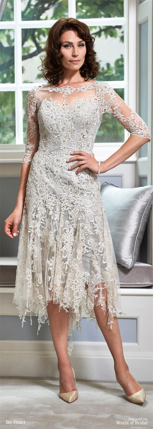 Ian stuart 2016 mother bride dresses world of bridal for Wedding dresses for mother of bride