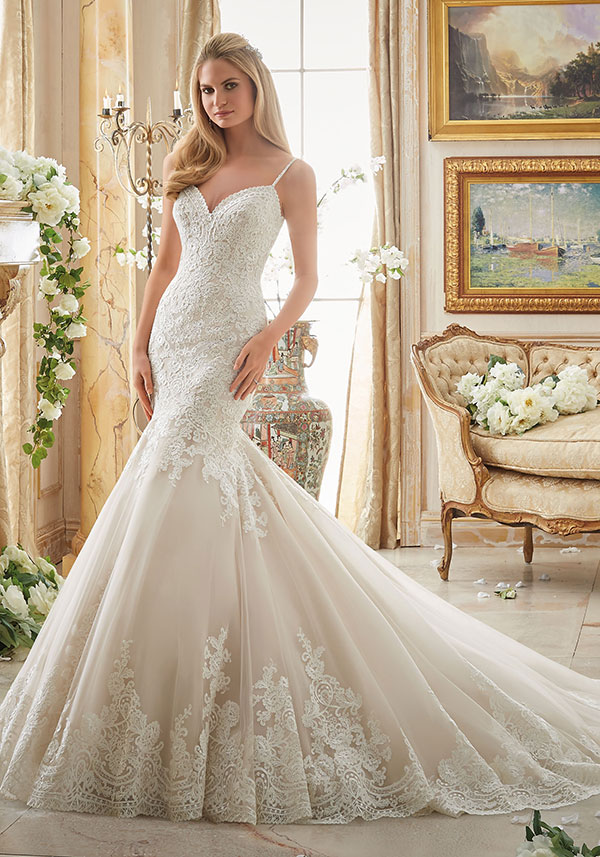 Mori Lee By Madeline Gardner Fall 2016 Wedding Dress