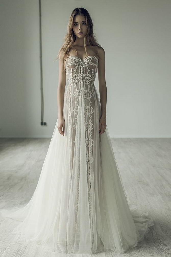 Ersa Atelier Fall 2017 Wedding Dress