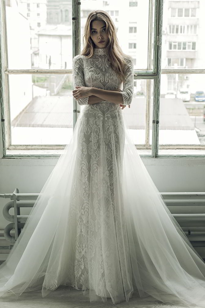 Ersa Atelier Fall 2017 Wedding Dresses World Of Bridal