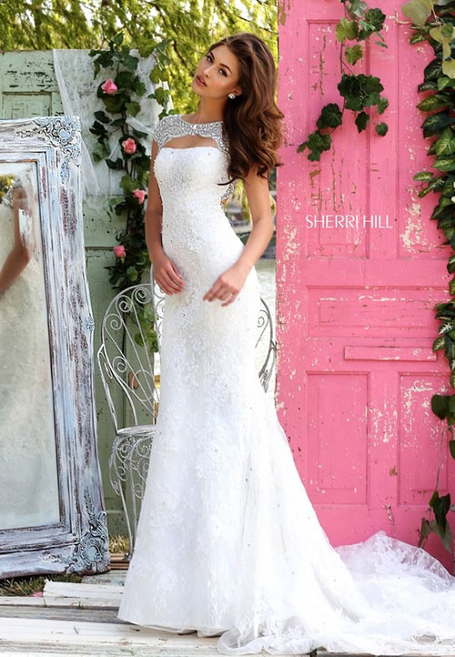 Celebrate Love With Sherri Hill 2016 Wedding Dresses World Of Bridal