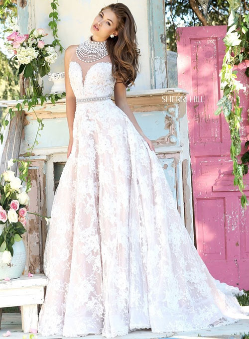 celebrate love with sherri hill 2016 wedding dresses
