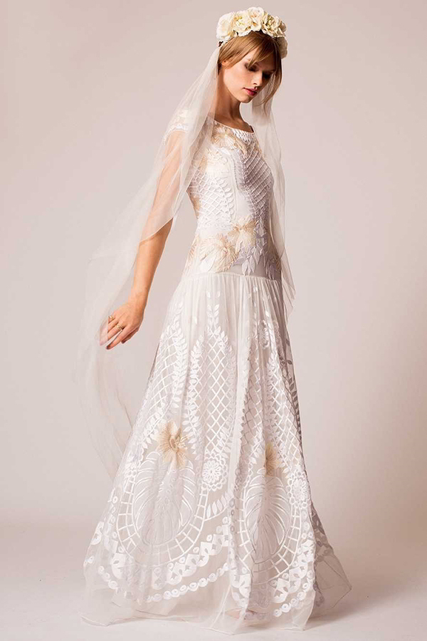 Famous Wedding Dress S London : Temperley london fall wedding dresses world of bridal